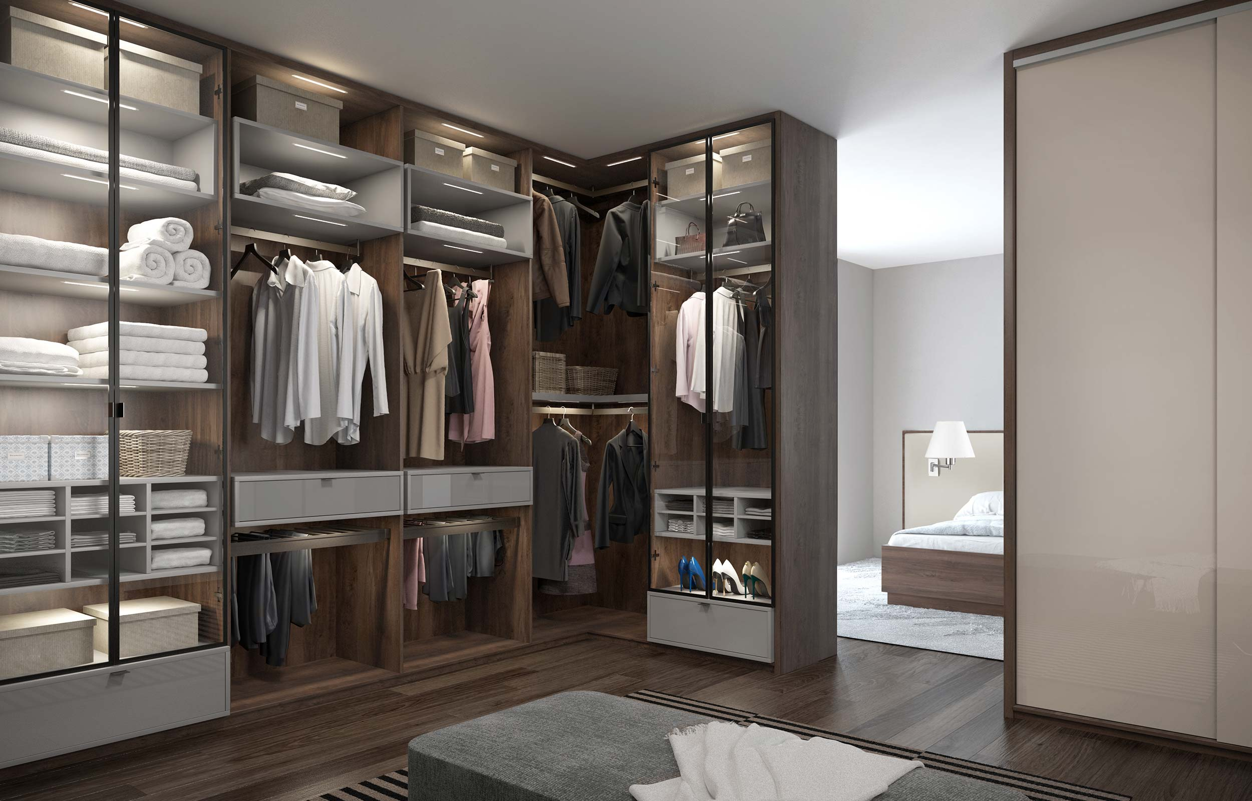 guntier wardrobe wardrobes open in walk large